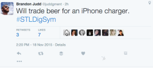 Beer for phone chargers