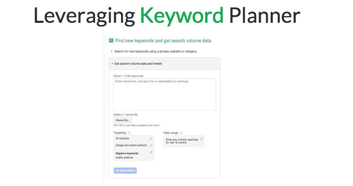 How_to_Use_Keyword_planner